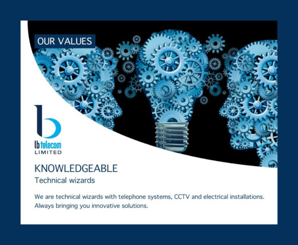 our values  - knowledgeable - technical wizards